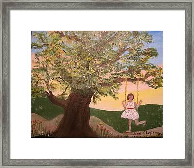 Alison Sweet Alison Framed Print by Jane Williams Clayton