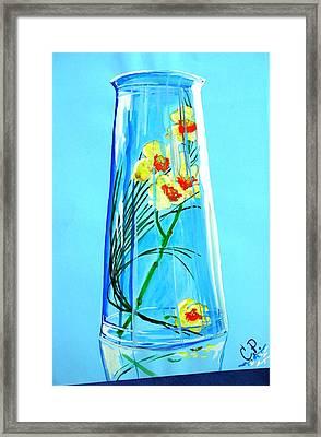 Alive Flowers Framed Print by Sonya Ragyovska