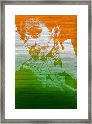 Aliyah Framed Print by Naxart Studio