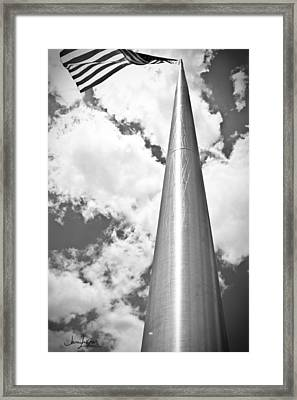 Framed Print featuring the photograph All About Perspective by Janie Johnson