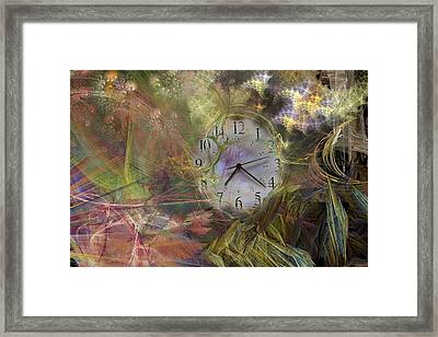 All About Time Framed Print
