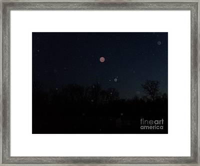 All Aglow Framed Print by Doug Kean