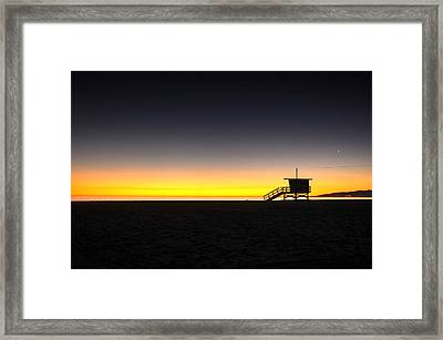 All Along The Guardtower Framed Print