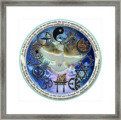 All Believing In Potential And Transition Framed Print