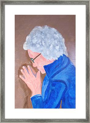 Framed Print featuring the painting All In The Mind by Lisa Brandel