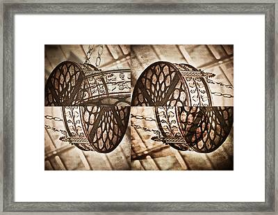 All Mixed Up Framed Print