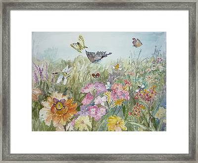All My Friends Framed Print by Dorothy Herron