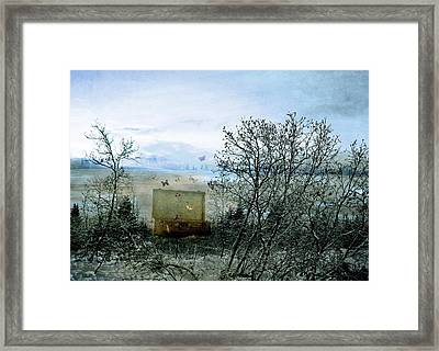 Framed Print featuring the digital art All My Precious Secrets by Michele Cornelius
