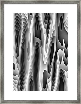 Framed Print featuring the digital art All Night Long by Jeff Iverson