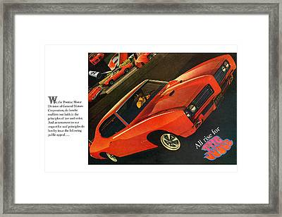 All Rise For The Judge Framed Print by Digital Repro Depot