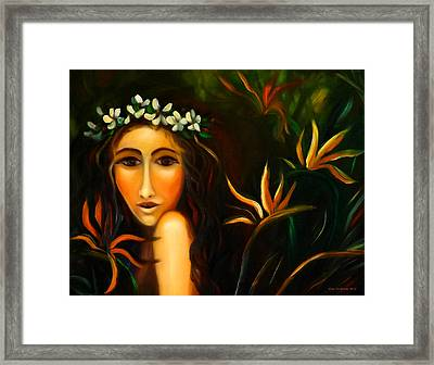 All That Framed Print by Gina De Gorna
