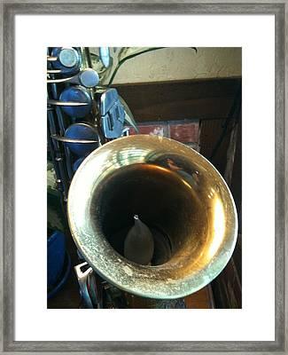 All That Jazz Framed Print by Shawn Hughes