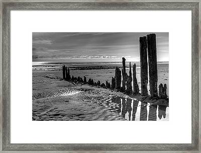 Framed Print featuring the photograph All That Remains by Michele Cornelius