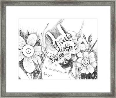All That You Can Be Framed Print by Helena Tiainen