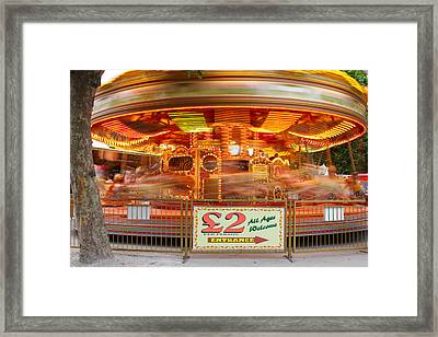 All The Fun Of The Fair Framed Print by Kevin Bates
