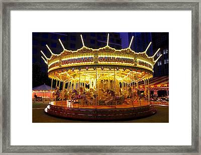 All The Fun Of The Fair Framed Print by Sean Foreman