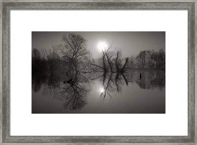 All The Ghosts  Framed Print by Jaromir Hron