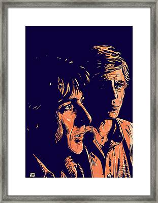 All The President's Men Framed Print by Giuseppe Cristiano