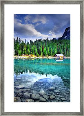 All Things Reflected Framed Print by Tara Turner