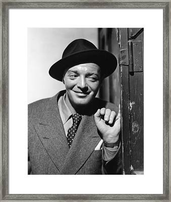 All Through The Night, Peter Lorre, 1942 Framed Print by Everett