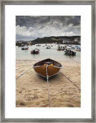 All Tied Up With No Place To Go Framed Print