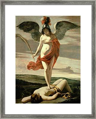 Allegory Of Victory Framed Print by Louis Le Nain