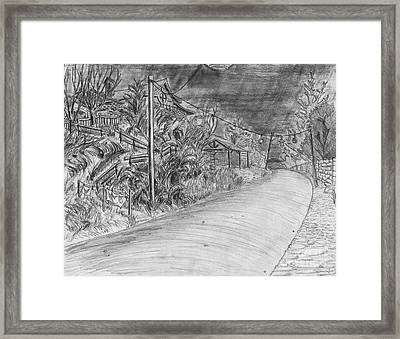 Alliance Boulevard By Lantern Light Framed Print by Jonathan Armes