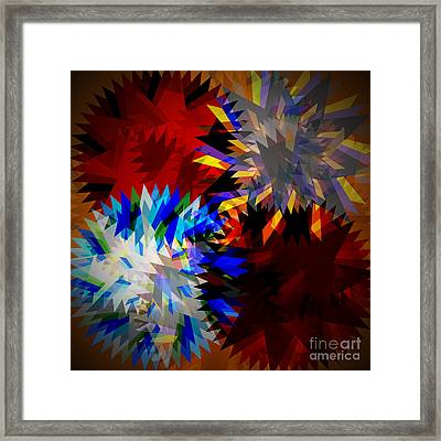 Allure Blade Framed Print