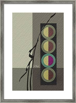 Allure Framed Print by Gordon Beck