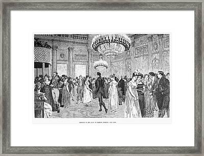 Almacks Club, C1815 Framed Print