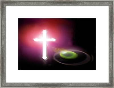 Almighty Framed Print by Richard Piper