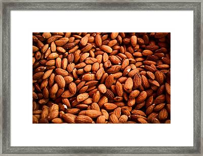 Almonds Framed Print by Tanya Harrison
