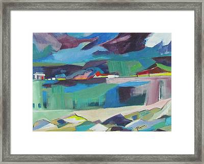 Almost Abstract Painting Framed Print