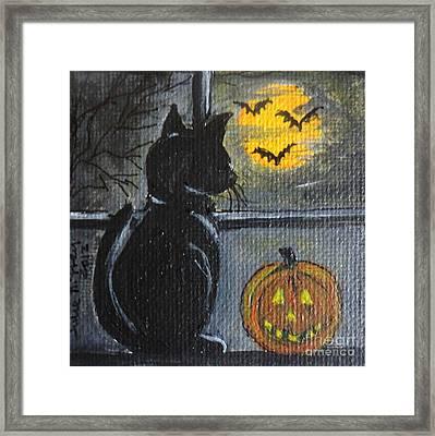 Almost Midnight Framed Print by Julie Brugh Riffey