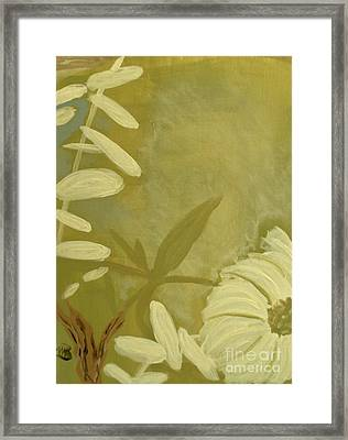 Almost Sumi 1 Framed Print by Marie Bulger