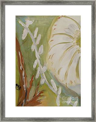 Almost Sumi 2 Framed Print by Marie Bulger