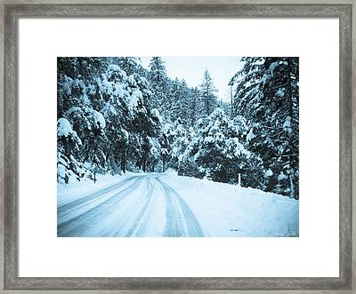 Almost There Framed Print by Heidi Smith