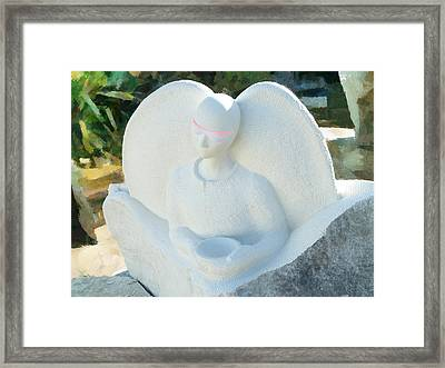 Alms For Angels Framed Print by Steve Taylor