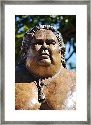 Aloha Bruddah Iz Framed Print