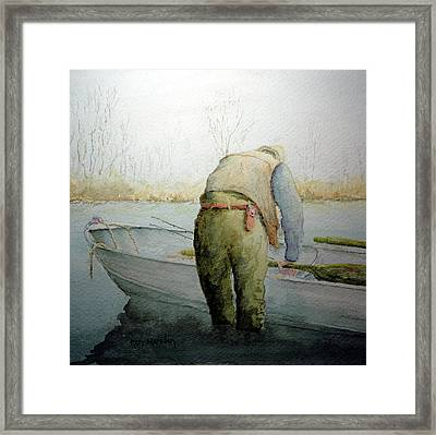 Alone 11312 Framed Print