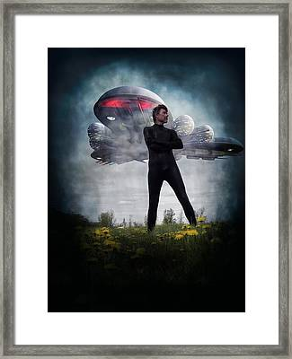Alone I Stand Framed Print by Michael Knight