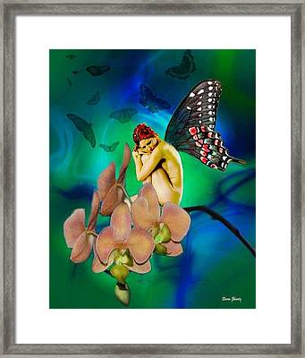 Alone I Wait Framed Print by Diana Shively