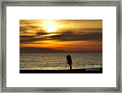 Framed Print featuring the photograph Alone by Tamera James
