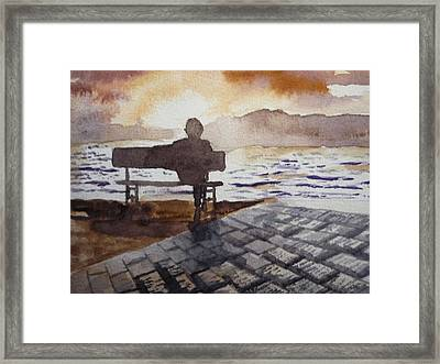 Alone... Framed Print by Vuong Anh Tuan