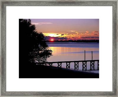 Alone With God Framed Print by Karen Wiles