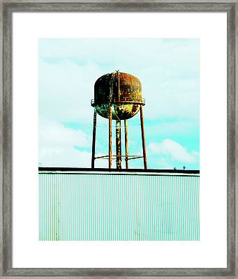 Framed Print featuring the photograph Along Highway 61 by Lizi Beard-Ward