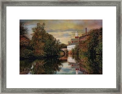 Along The Blackstone River Framed Print