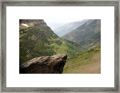 Along The High Line Framed Print by Marty Koch