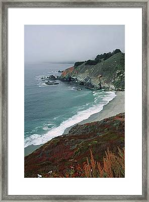 Framed Print featuring the photograph Along The Pacific Coast by Renee Hardison