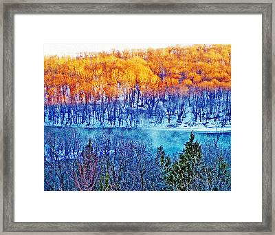 Along The Susquehanna Framed Print by See Me Beautiful Photography